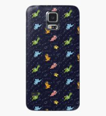 Dinosaurs In Space Case/Skin for Samsung Galaxy