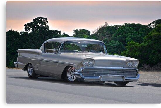 1958 Chevrolet Impala Two Door Hardtop by DaveKoontz