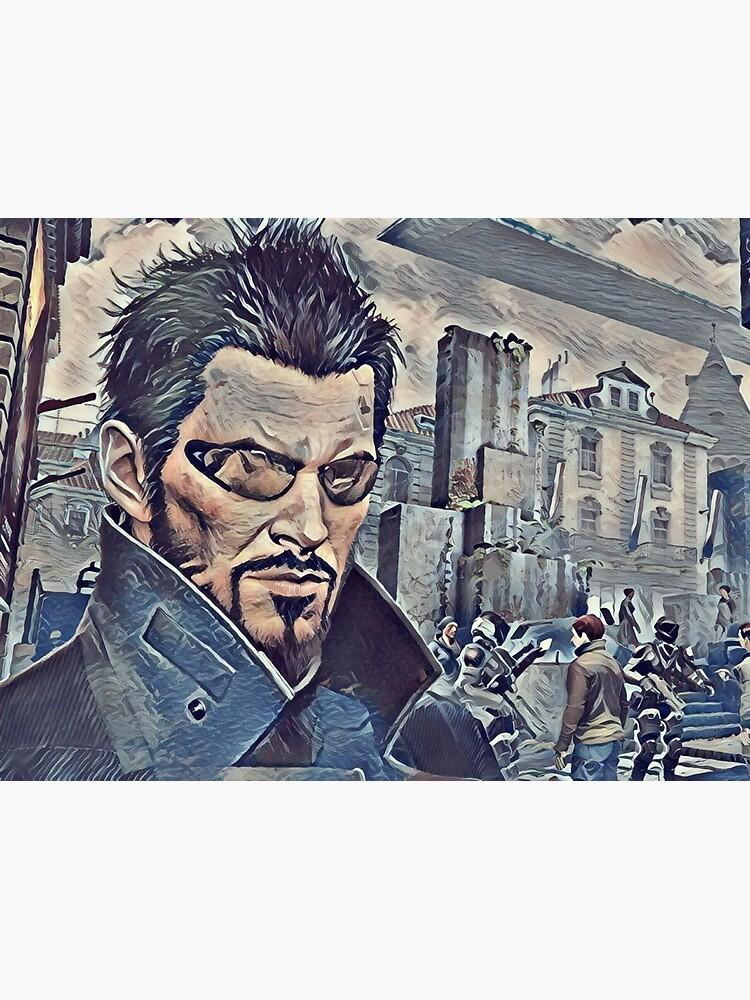 Deus Ex Adam Jensen Game Art by mia-scott