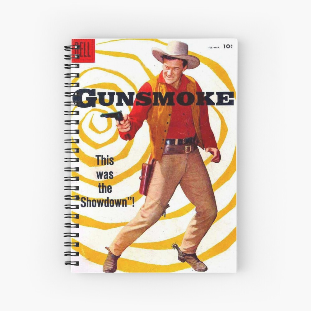 Gunsmoke Spiral Notebook