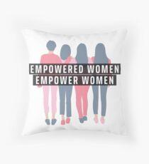 Empowered Women 2.0 Throw Pillow