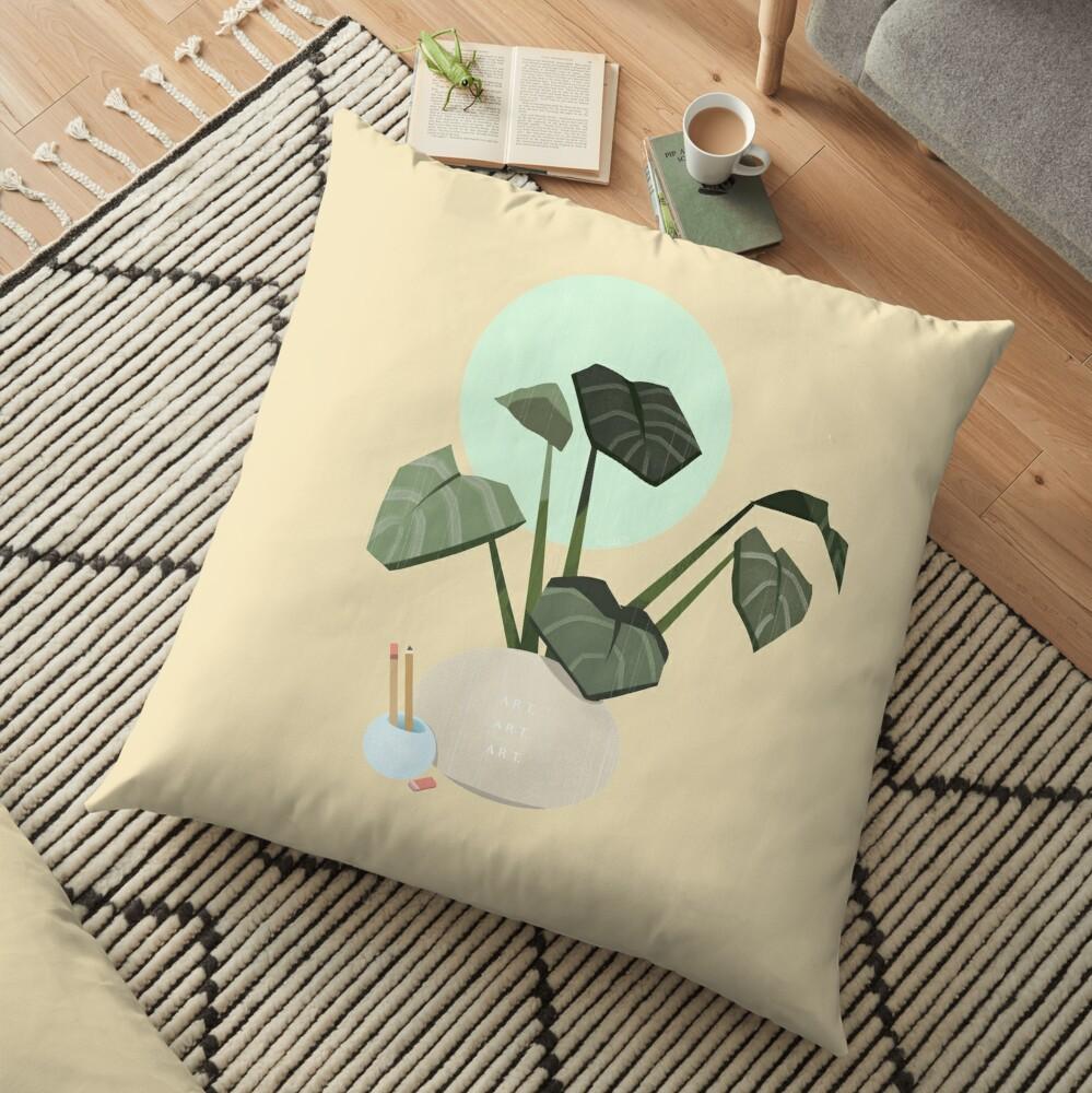 Plants plants plants Floor Pillow