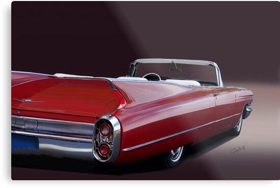 1960 Cadillac Convertible by DaveKoontz