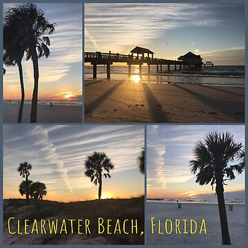Clearwater Beach, Florida Sunset by gorff