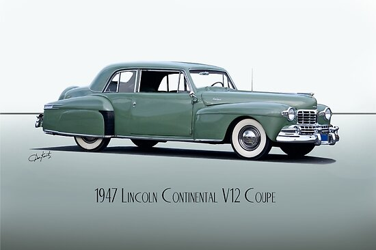 1947 Lincoln Continental V12 Coupe by DaveKoontz