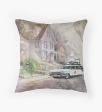 The Chase! Throw Pillow