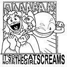 It's Not Over Until the Cat-Girl Screams by Garth Haslam