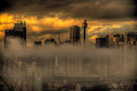 Australian Gothic - Sydney Australia - The HDR Experience by Philip Johnson