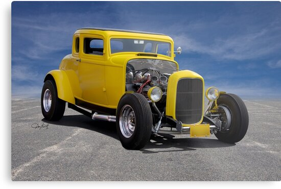 1932 Ford 'American Graffiti' Coupe by DaveKoontz