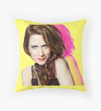 Kristen Wiig SNL Portrait Throw Pillow