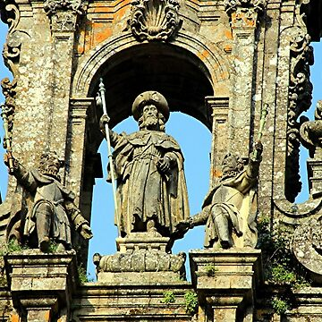 Cathedral of Santiago de Compostela, Spain by FranWest