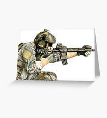 USA Ranger Greeting Card