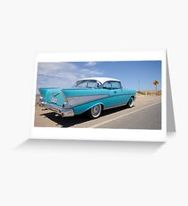 1957 chevy belair Greeting Card