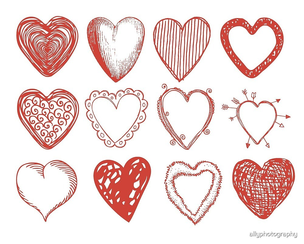 12 Love Heart Design  by allyphotography