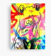 Graffiti Sailor Moon Canvas Print
