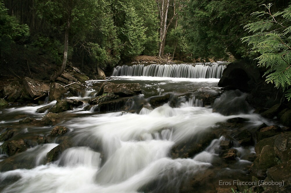 Credit River, little falls, Belfountain Ontario Canada by Eros Fiacconi (Sooboy)