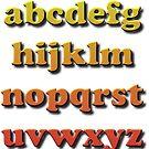 Alphabet a b c d e f g h i j k l m n o p q r s t u v w x y z by znamenski