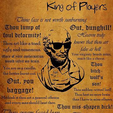 The King Of Players by adamshepherd