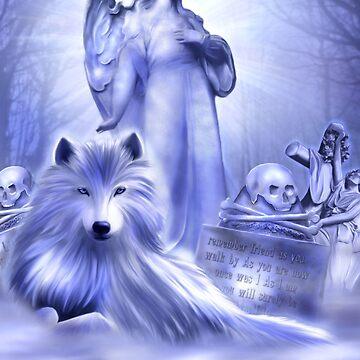 Wolf Spirit by indigocrow