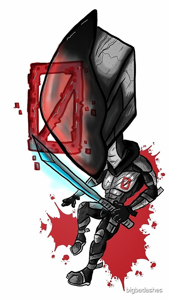 Tiny Zer0 the Assassin by bigbadashes