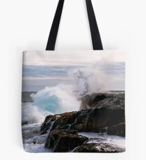 Nor' Easter on Ocean Point, Maine Tote Bag