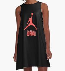 Michael Jordan Red A-Line Dress