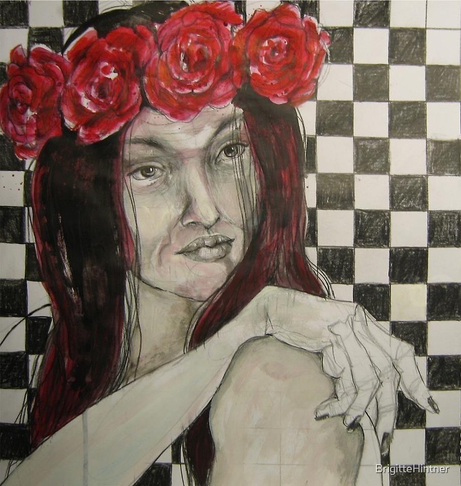 RED BELONGS TO ME! by BrigitteHintner