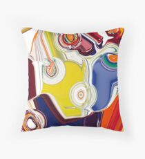 Game of Colors Throw Pillow