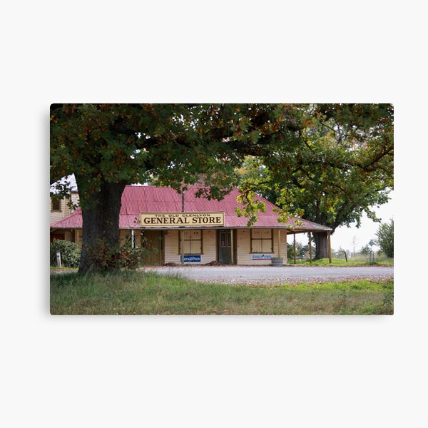 The Old Glenlyon General Store Canvas Print