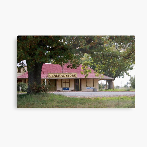 The Old Glenlyon General Store Metal Print