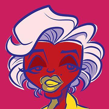 Marilyn Pop (Rose) by binarygod