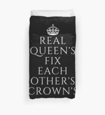 Funda nórdica  Real Queens Fix Each Other's Crown's - Gift For Girl Power Me Too