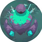 Golem Warrior - Pixel Art by Bumcchi
