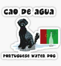 Portuguese Water Dog Sticker