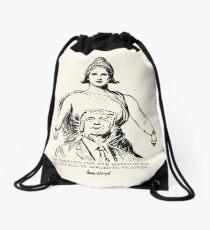Columbia Embraces Donald Trump Drawstring Bag