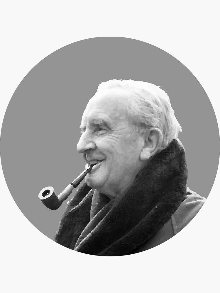 J.R.R. Tolkien von anniekwheeler