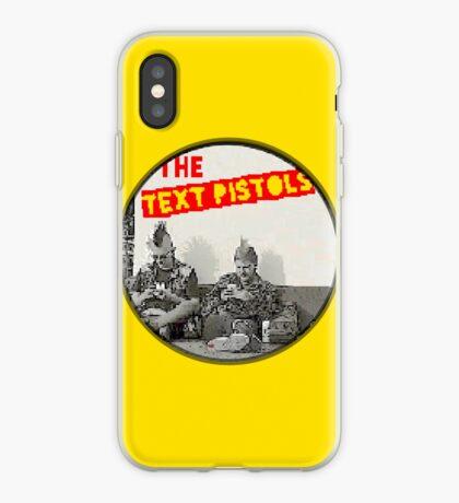 TEX^ PIS^OLS 777 (pixelated) RootCat iPhone Case