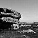 Froggat's Edge Rock, Peak District by Steven Cliff