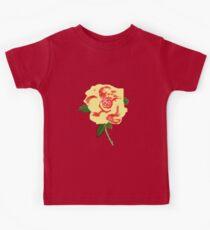 CREAM ROSE    T SHIRT Kids Tee