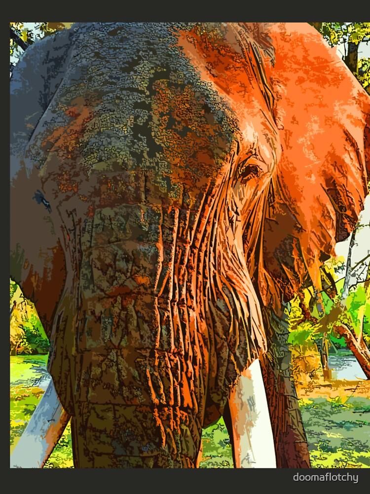 Afrikanische Elefanten von doomaflotchy