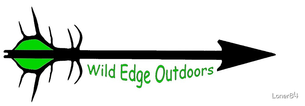 Wild Edge Outdoors Logo (green fletching) by Loner84
