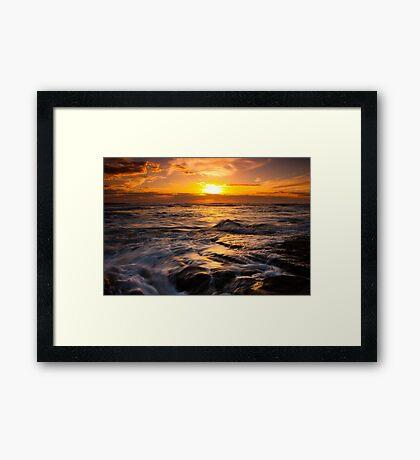Gunnamatta Beach Framed Print