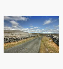 The Burren Road Photographic Print
