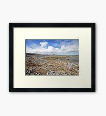 Beautiful Burren Landscape Framed Print