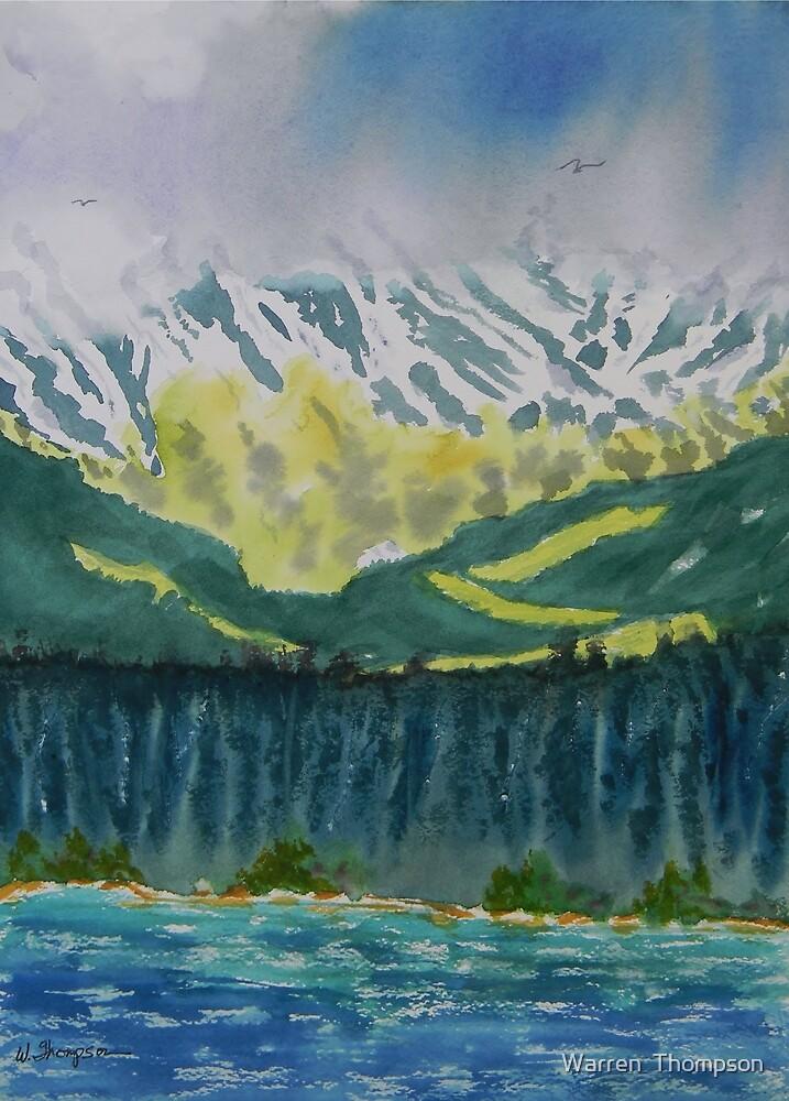 Juneau Landscape by Warren  Thompson