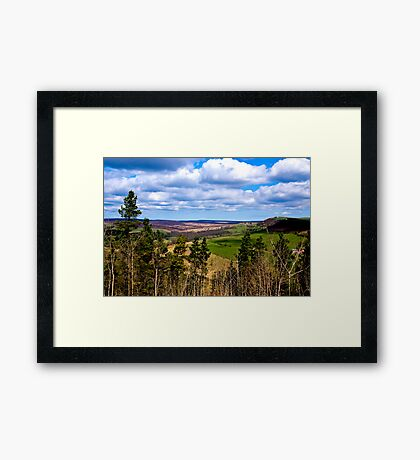 View of Pockley Moor. Framed Print