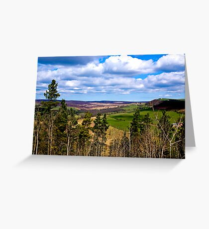View of Pockley Moor. Greeting Card