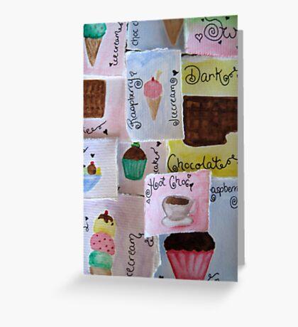 Desserts Greeting Card