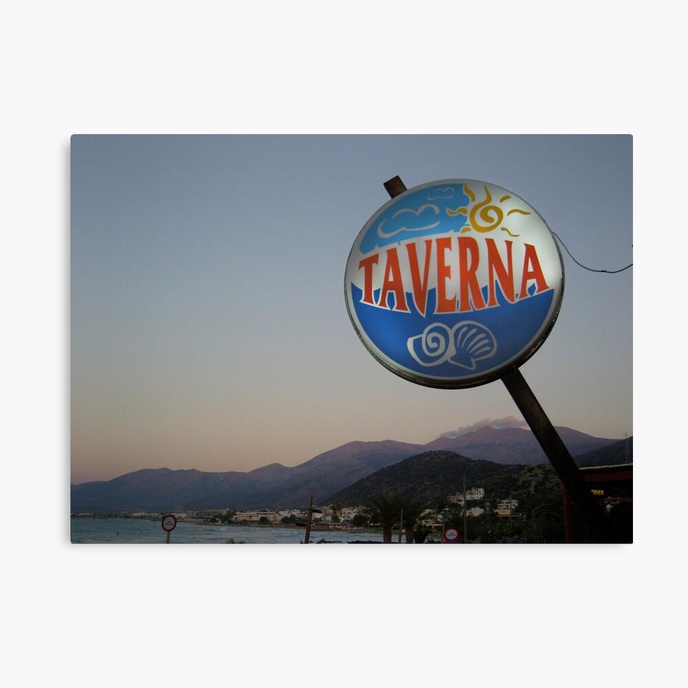 Taverna Canvas Print