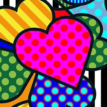 Lucky Heart SQuare by Art-Frankenberg